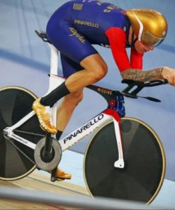 Bicycle Olympics Sports paint by number