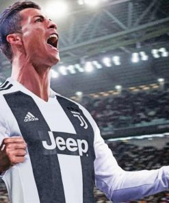 Cristiano Ronaldo Legend paint by numbers