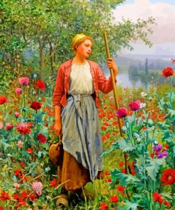 Daniel Ridgway Poppies paint by numbers