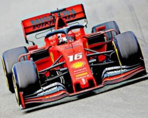 Formula One Car paint by numbers