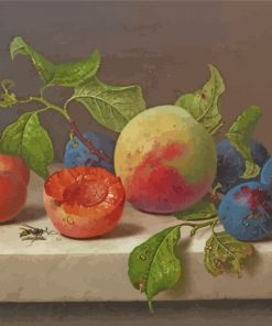 Fruits Still Life paint by number