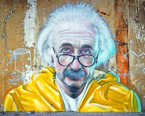 Graffiti-Of-Albert-Einstien-paint-by-numbers