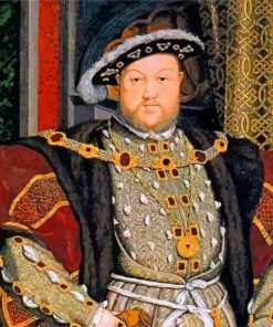 Henry VIII England King paint by number