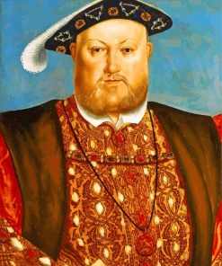 Henry VIII King paint by number