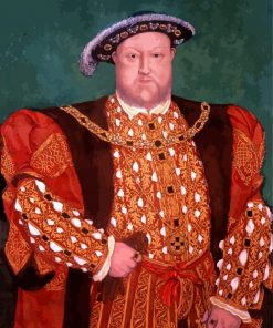 Henry VIII Portrait paint by number