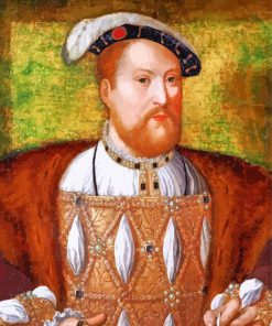 King Henry VIII paint by number