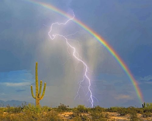 Lightning-and-rainbow-adult-paint-by-numbers