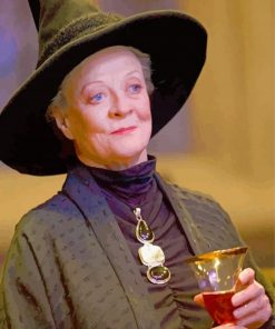 Minerva Mcgonagall Harry Potter paint by number