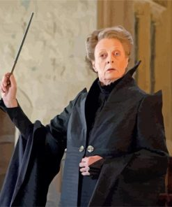 Minerva Mcgonagall paint by numbers
