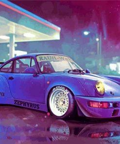 RWB Porsche Car paint by number
