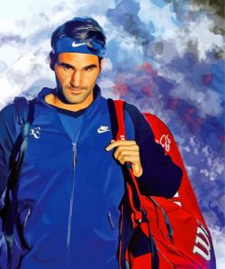 Roger-Federer-illustration-paint-by-numbers