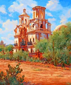 San Xavier art paint by numbers