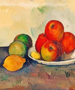 Still Life With Apples Paul Cezanne paint by numbers
