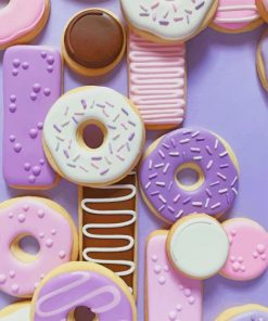 Sweet Donuts paint by numbers
