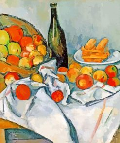 The Basket of Apples Paul Cezanne paint by numbers