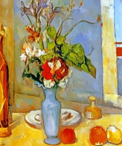 The Blue Vase Paul Cezanne paint by numbers