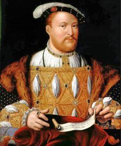 The King Henry paint by number