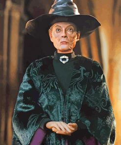 The Professor Minerva McGonagall paint by numbers