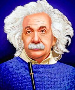The-Unforgettable-Albert-Einstein-paint-by-number