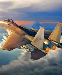 Air Force Fighter Jet Paint By numbers