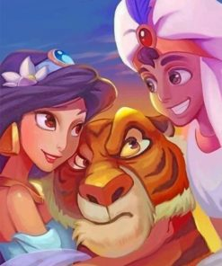 aladdin-and-jassmine-paint-by-numbers