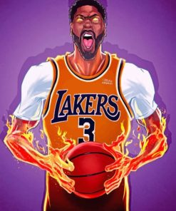 anthony-davis-lakers-Art-paint-by-numbers
