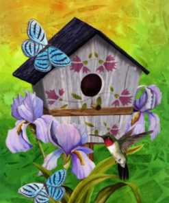 bird House paint by numbers