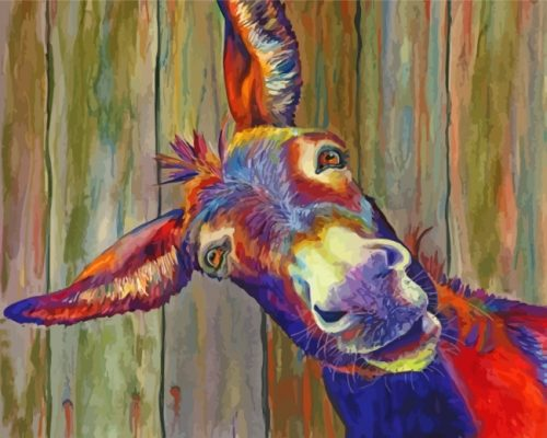colorful-donkey-paint-by-numbers