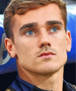 Cute Antoine Griezmann Player Paint By Numbers