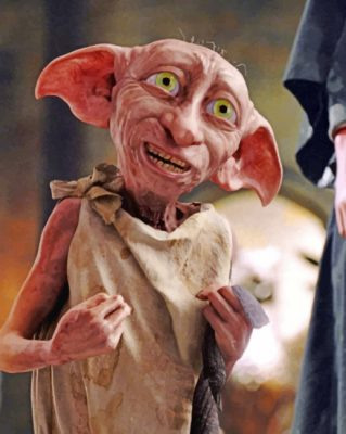 Dobby Harry Potter Paint by numbers