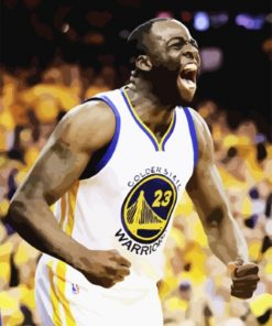 Draymond Green Basketball Player Paint By Number