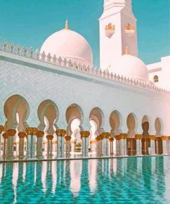Sheikh Zayed Abu Dhabi paint by numbers