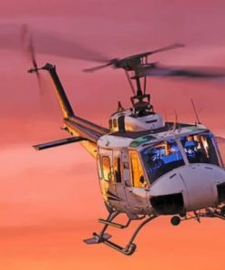 Aesthetic Helicopter Paint by numbers