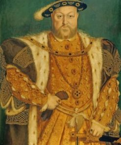 Henry VIII King Paint by numbers