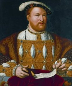 Henry VIII Portrait paint by numbers
