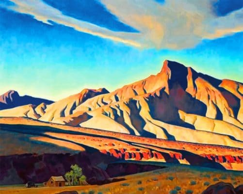 Mountains Maynard Dixon Paint by numbers