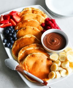 pancake-and-fruit-platter-paint-by-numbers