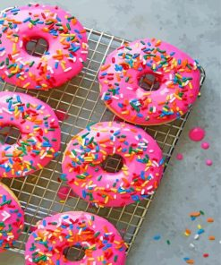 pink-Doughnuts-paint-by-numbers