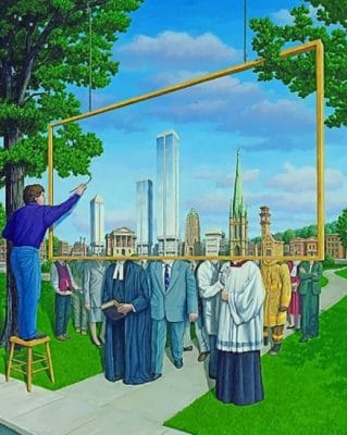 Rob Gonsalves Art Paint by numbers