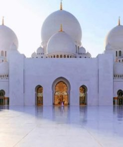 Sheikh Zayed Mosque paint by numbers