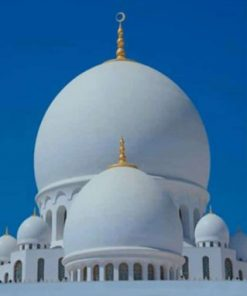 Sheikh Zayed Grand Mosque Paint by numbers
