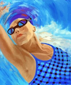 swimmer-woman-paint-by-numbers