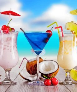 tropical-cocktails-paint-by-number