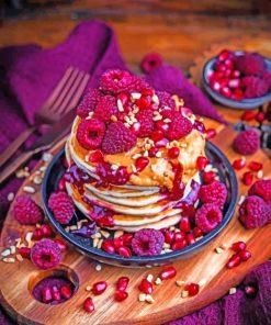 yummu beautiful pancakes paint by number