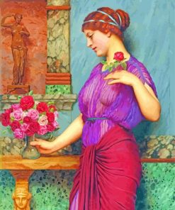 An Offering To Venus william godward paint by number
