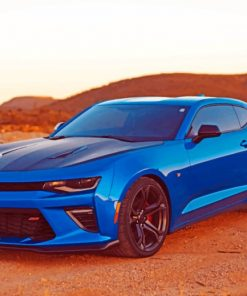 Chevrolet Camaro paint by numbers