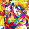 Colorful Katsuki Bakugo Paint by numbers