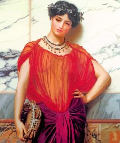 Drusilla william godward paint by number