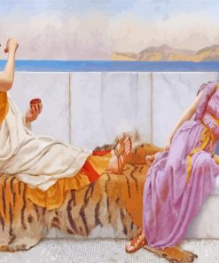 Eighty And Eighteen By John william godward paint by numbers