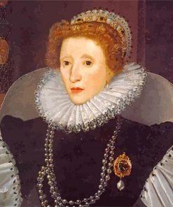 Elizabethan era paint by numbers